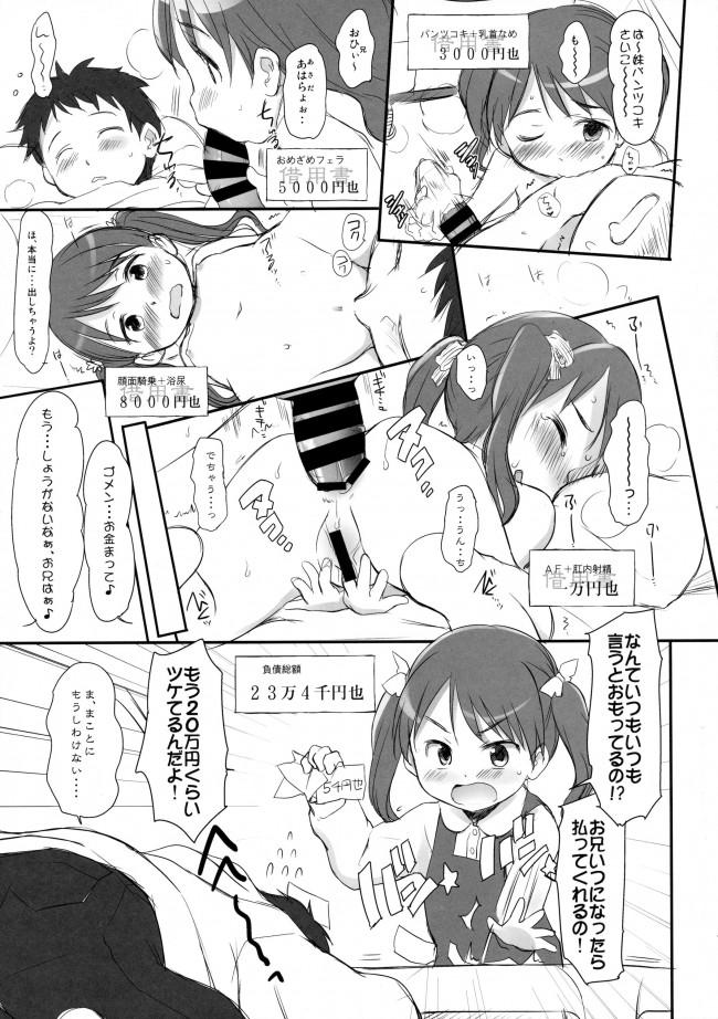 【エロ漫画】JSの妹とエッチな事しまくってるお兄ちゃんがアナルファックしちゃったり…【無料 エロ同人】_6