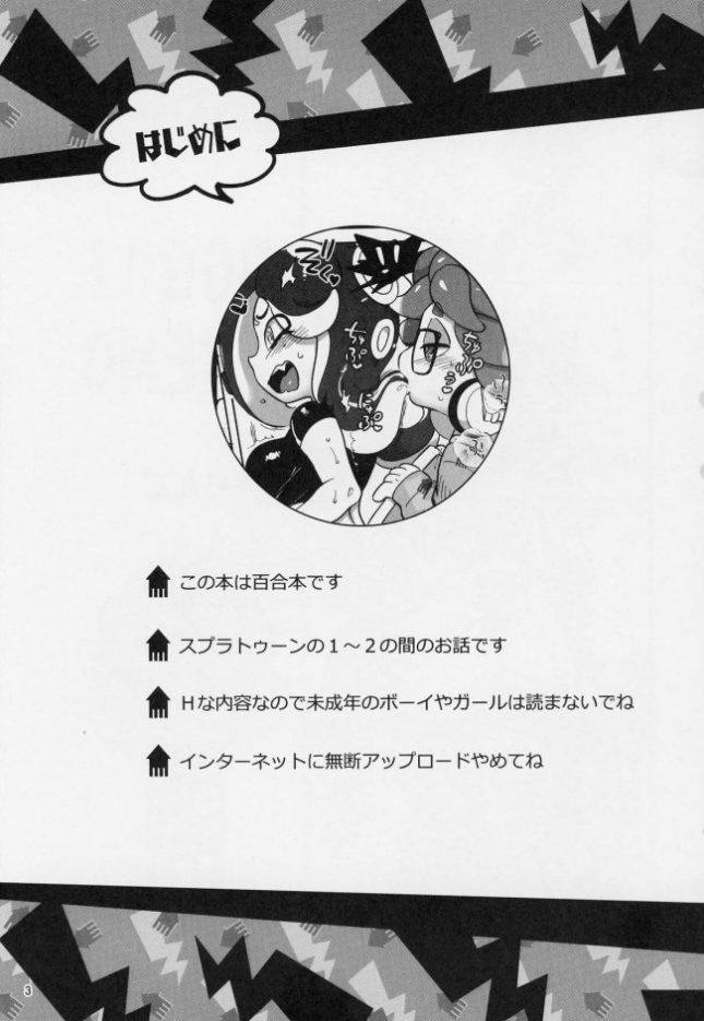 【スプラトゥーン エロ同人】異文化交流。 (2)